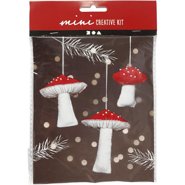 Mini Creative Kit - Csináld magad! pöttyös gombák