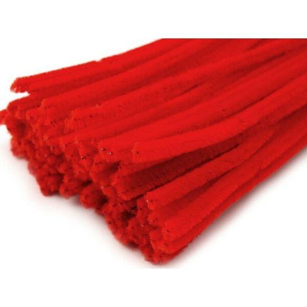 Piros zseníliadrót csomag - 6mm - 30cm - 20db