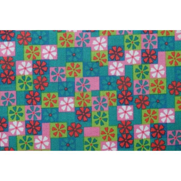 STOF fabric - Lovely Style Multi Green