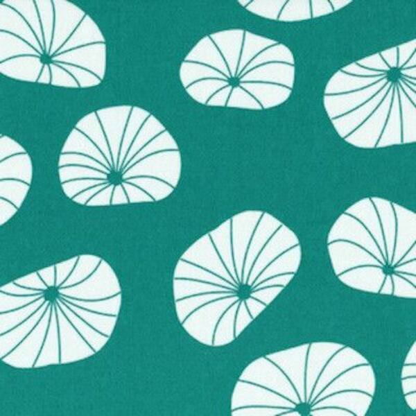 STOF fabric -  Floating Axes in Teal