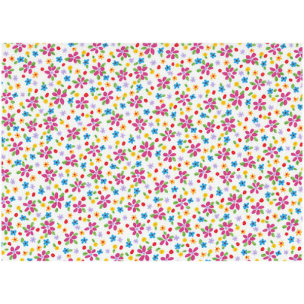 STOF fabric -  Lizzy Fay - Floral Scatter White