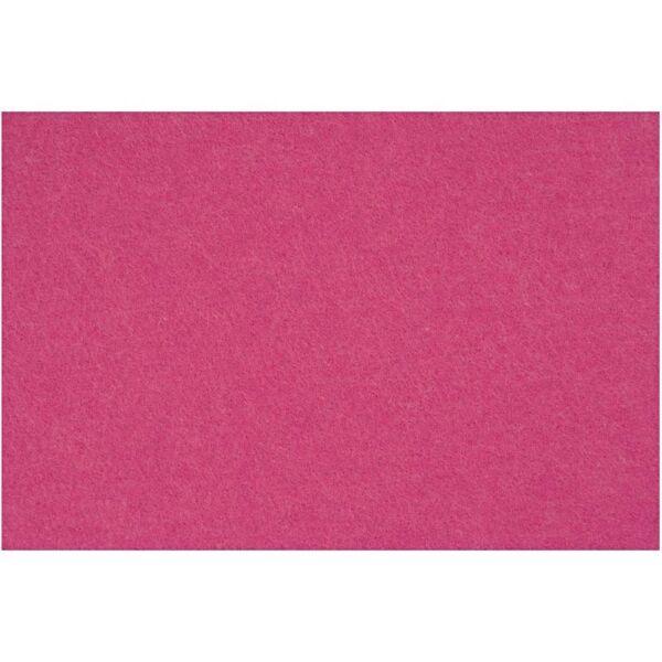 3mm vastag barkácsfilc - sötét pink - A4