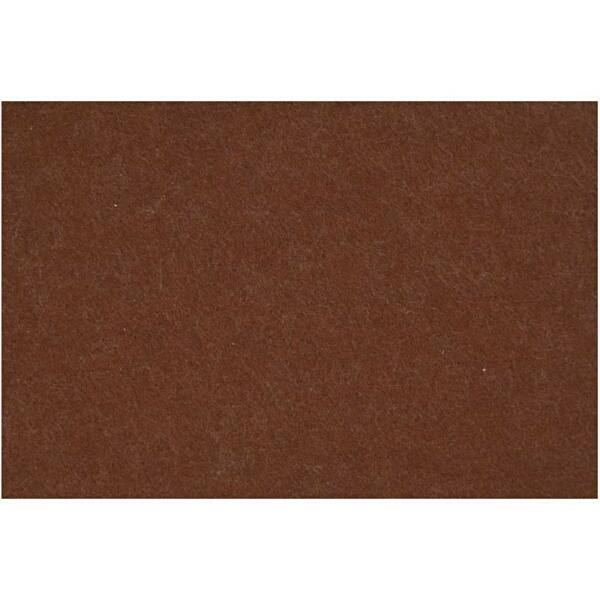 3mm vastag barkácsfilc - barna - A4