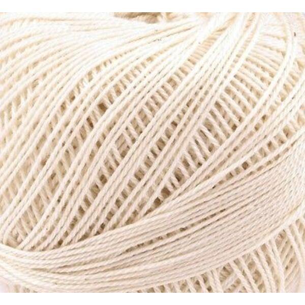 Mercezett pamut hímzőfonal horgoló fonal - 20gr - beige