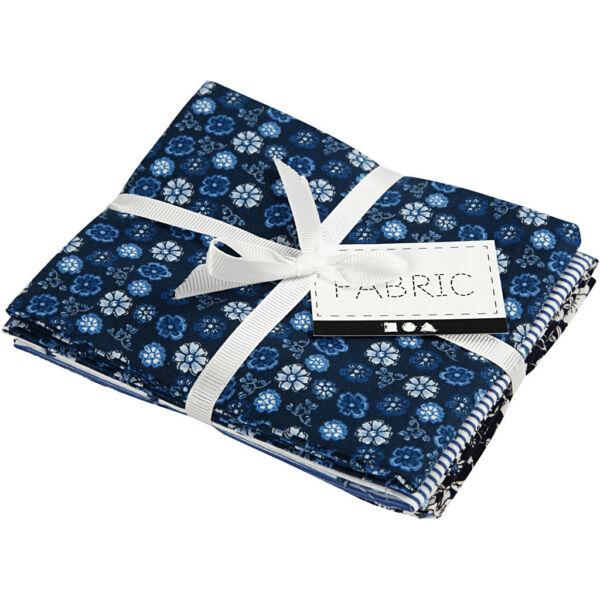 Pamutvászon csomag - kék