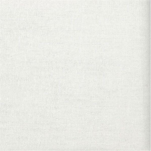Organikus pamutvászon - fehér - 1m