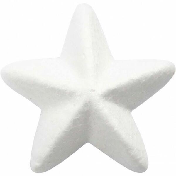 Polisztirol csillag - 6cm