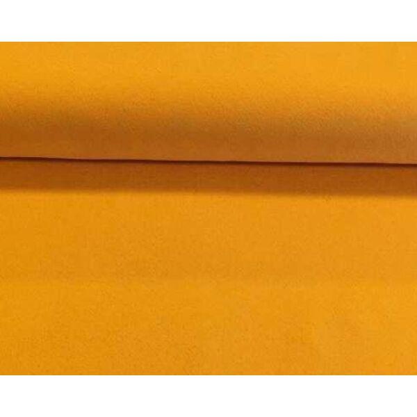 Narancs polyfilc méteráru - 180cm széles