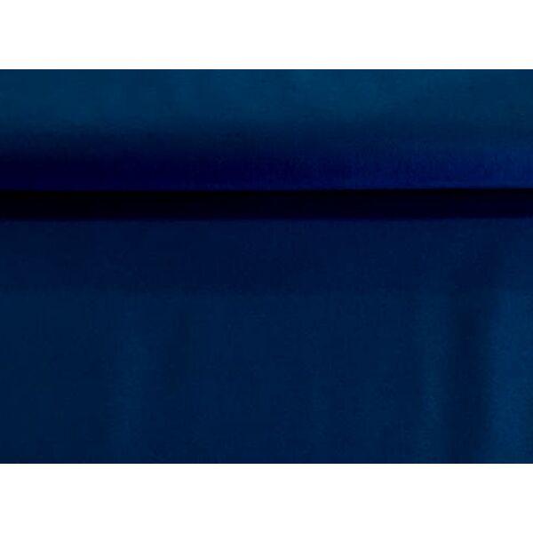 Sötétkék polyfilc méteráru - 180cm széles