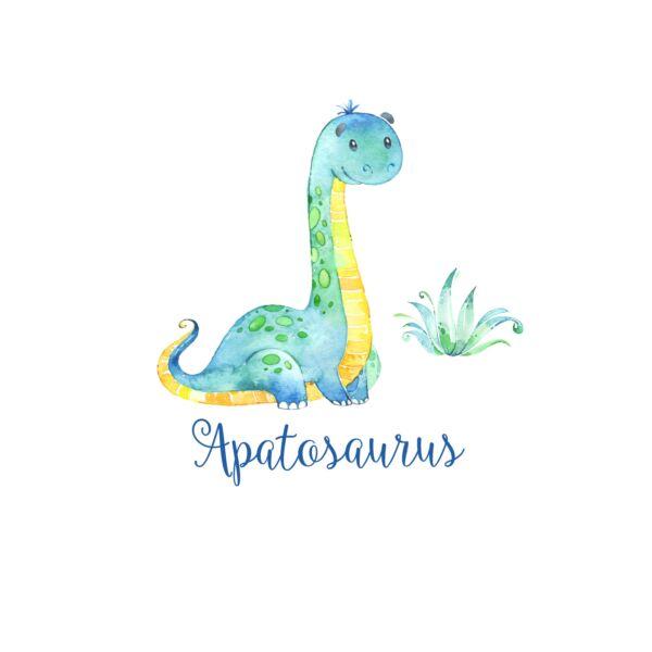 Mintás barkácsfilc - Dinosaurs - apatosaurus