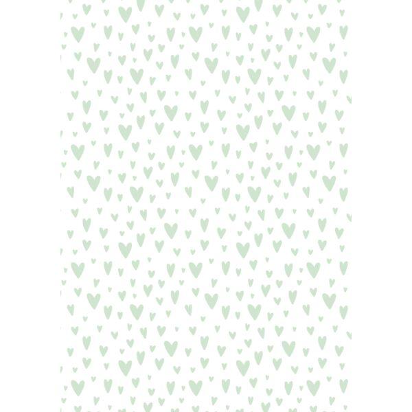 Mintás barkácsfilc - varázslatos unikornis - M széria - szíves minta
