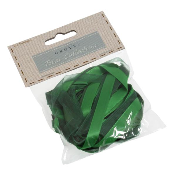 Vegyes szalag válogatás - 10x1m - Green