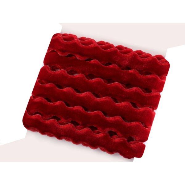 Piros bársony szalag csomag