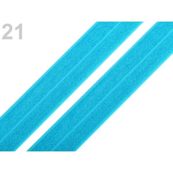 Azúrkék gumi - 18mm széles