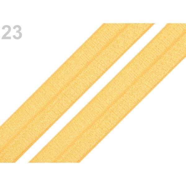 Mustársárga gumi - 18mm széles