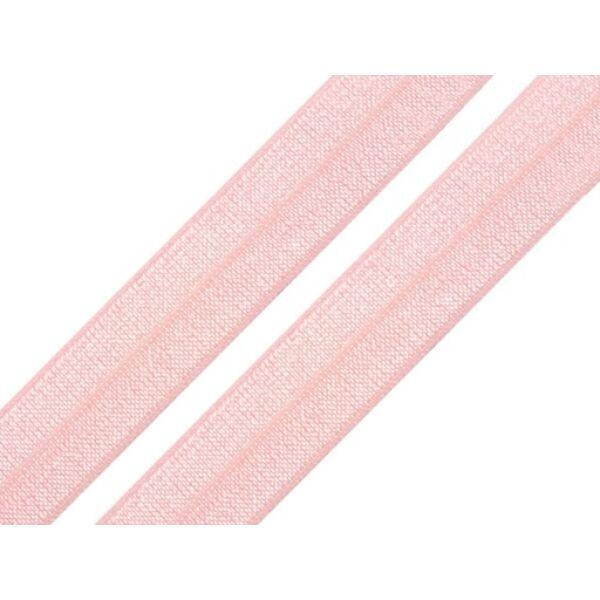 Rózsaszín gumi - 18mm széles