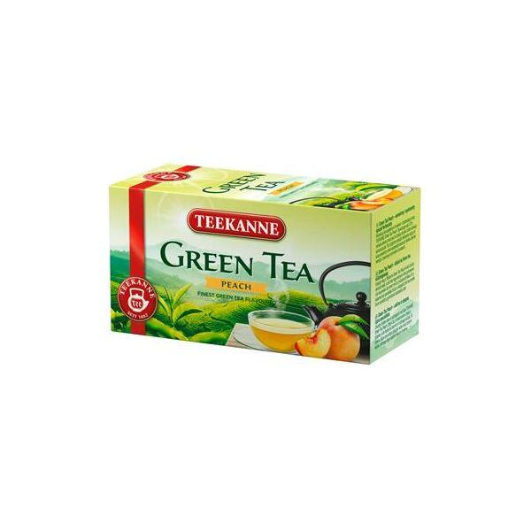 Zöld tea, 20x1,75 g, TEEKANNE, barack