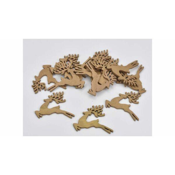 Arany ugrószarvas 5cm - 5db