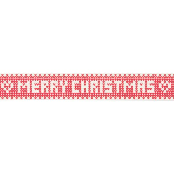 100% pamut szalag csomag - Knitted Merry Christmas