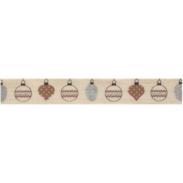100% pamut szalag csomag - Gold and Silver Baubles
