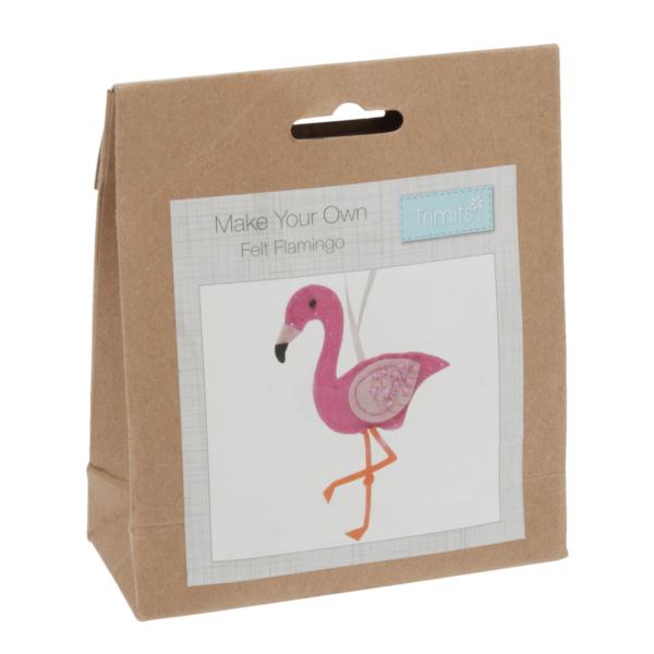Csináld magad! filc szett - Flamingo
