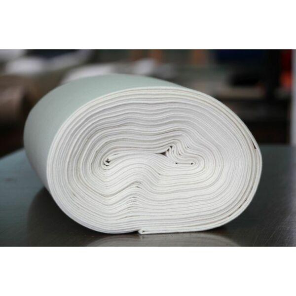 Pihe - puha gyapjúfilc méteráru - fehér