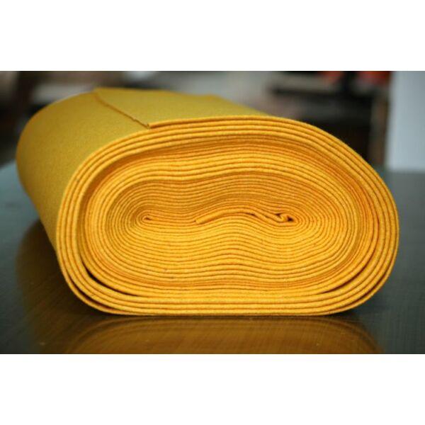 Pihe - puha gyapjúfilc méteráru - mangó