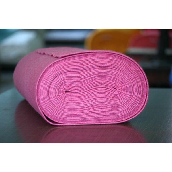 Pihe - puha gyapjúfilc méteráru - rózsaszínű